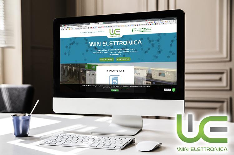 Sito Web creato in Joomla Win Elettronica