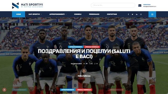 Blog sportivo